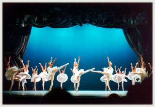 Swan Lake Ballet at the Garcia Lorca Theater